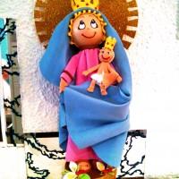 Fofucha Virgen del Pilar